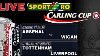 Miercuri ai Cupa Ligii Angliei in direct pe Sport.ro