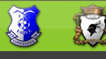Farul 1-1 FC Timisoara ( min 48 Alibec /min 30 Bucur) COMENTEAZA AICI: