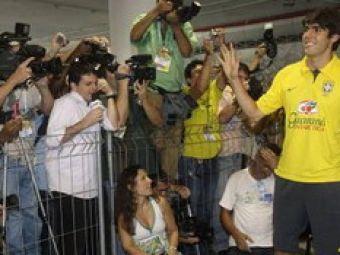 Kaka si-a lasat amprentele pe Maracana!