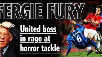Ferguson si-a pierdut mintile dupa faultul asupra lui Possebon!