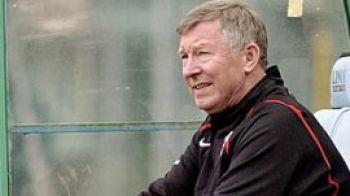 Clipul zilei: Sir Alex Ferguson, speriat de moarte de un balon