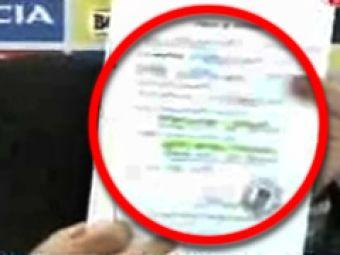 """Vezi documentul oficial: """"Nu i-am dat fraudulos palmaresul lui Zambon"""""""