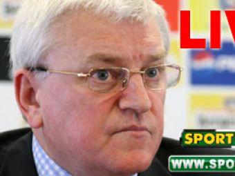 Acum: Conferinta Kassai LIVE pe Sport.ro si www