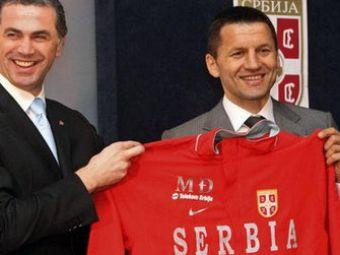Scapam de Djukici? Selectionerul Serbiei ar putea fi inlocuit!