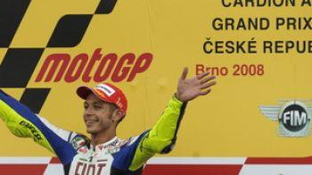 Rossi castiga la Brno si se apropie de titlul mondial