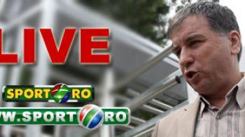 """ACUM: Valeriu Argaseala la """"Informatia""""LIVE pe Sport.ro si www!"""