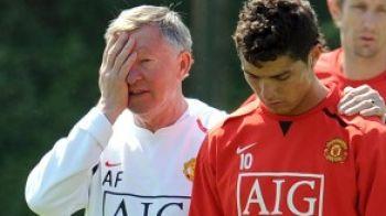 Pleaca Ronaldo? Ferguson si-a anulat zborul in Portugalia!