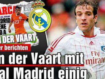 Van der Vaart la Real Madrid pentru 20 mil de euro!