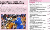 Gazzetta dello Sport: Golul lui Toni era valabil!