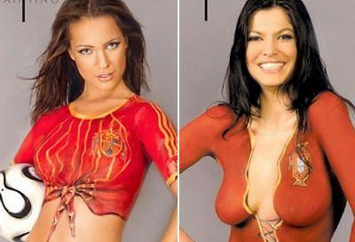 Buna... dimineata! Cine este mai TARE: Spania sau Portugalia?
