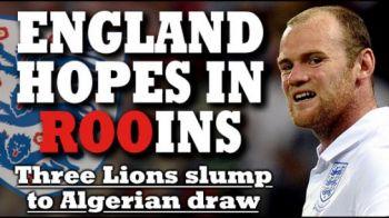 "TheSun: ""Anglia in RUINA!"" Daily Mail: ""Avem jucatori fara dinti si fara idei"""