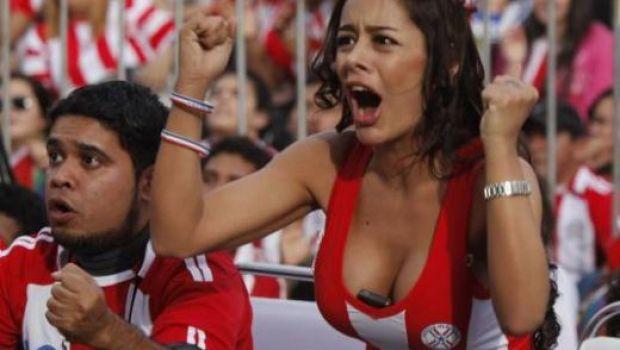 FOTO / Cea mai SEXY fana de la Mondial vine din Paraguay: