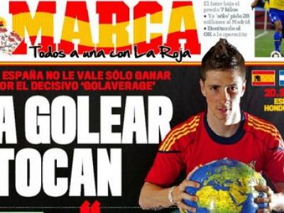 "Torres revine in echipa Spaniei! ""Trebuie sa castigam, sa castigam si sa castigam din nou!"""