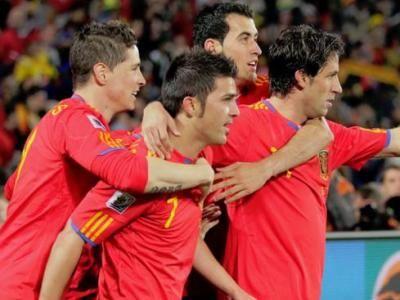 Dubla de senzatie David Villa: Spania 2-0 Honduras! Vezi rezumatul