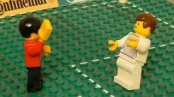 VIDEO Cum arata rusinea Angliei in LEGO? Vezi aici meciul cu Algeria!