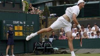 VIDEO / Cel mai LUNG meci din istoria tenisului s-a terminat dupa 3 zile! Vezi reactia lui Isner