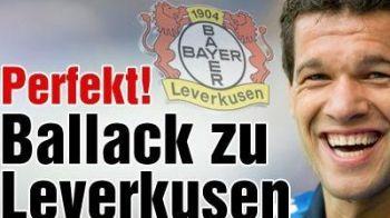 E OFICIAL: Ballack revine la Bayer!