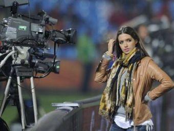 Cea mai sexy reporterita de la mondiale nu renunta: Sara a calificat Spania!