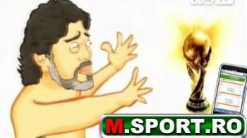 VIDEO Maradona luat la misto! Canta dezbracat Don't cry for me, Maradona!