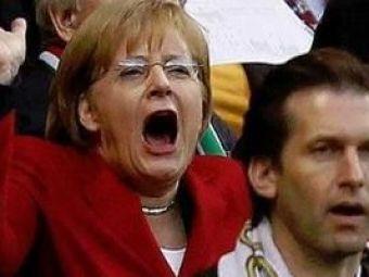 Pronostic la nivel inalt: Angela Merkel spune ca Germania va castiga cu 2-1 diseara!