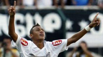 MEGA AFACERE! Barcelona il poate lua oricand pe Neymar de la Santos!