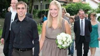 Philipp Lahm s-a casatorit cu frumoasaClaudia! Vezi POZE: