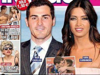 Cel mai tare sarut din fotbal i-a convins: Casillas si Sara Carbonero se casatoresc! Trimite-le un mesaj!