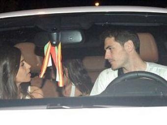 FOTO: Sara Carbonero si Iker Casillas, TANDRETURI in masina dupa o cina intima la Madrid!