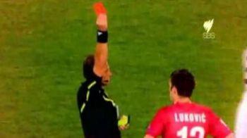 VIDEO / Momente NEBUNE! Vezi cum s-au dat cartonasele rosii la Cupa Mondiala: