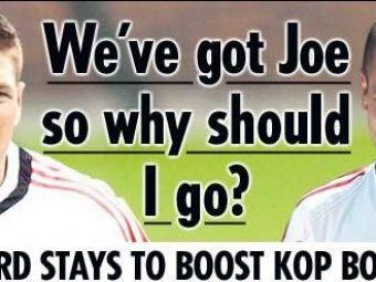 """Gerrard ramane la Liverpool: """"Sunt fericit sa joc alaturi de Joe Cole"""""""
