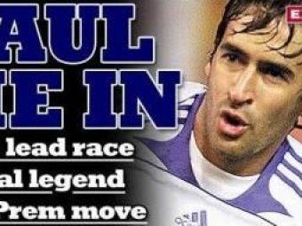 Mutare BOMBA! Raul vrea sa isi incheie cariera in Anglia si este asteptat la Tottenham