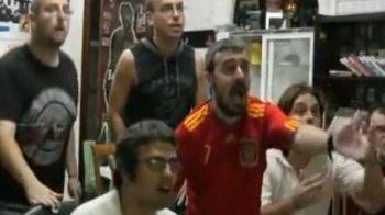 Cum au trait spaniolii golul lui Iniesta! VIDEO