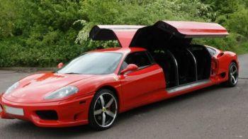 FOTO FABULOS! Limuzina Ferrari: Masina pe care nu ti-o permiti nici daca iti vinzi apartamentul!
