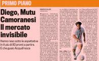 "Mutu in TOPUL PACALELILOR din Italia! Gazzetta dello Sport: ""Ei sunt jucatori esuati, neintelesi si nedoriti!"""
