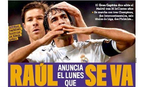 Real pierde o LEGENDA! Cum vrea Raul sa-si ia adio inainte de a pleca in Germania!
