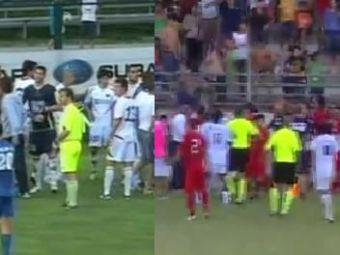 VIDEO Tactica pumnului in fotbal: cele mai tari batai ale saptamanii! Victoras Iacob, GONIT de la stadion!