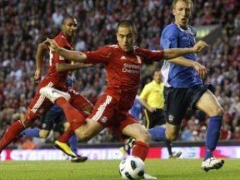 VIDEO / Joe Cole a DEBUTAT pentru Liverpool si a facut senzatie! A fost omul serii in Europa League: