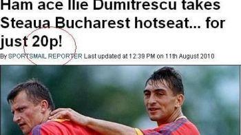 """Englezii, impresionati de Ilie Dumitrescu: """"Antreneaza Steaua pentru maruntis!"""""""