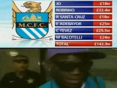 VIDEO: Balotelli a ajuns la Manchester! City l-a luat pe cel mai mare talent italian!