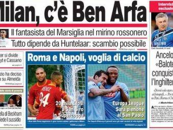AC Milan il vrea pe Ben Arfa, Juventus pe Jermaine Jenas!