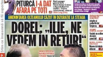 """Mesajul lui Dorel Stoica pentru Ilie Dumitrescu: """"Ne vedem in decembrie, la Craiova-Steaua"""""""