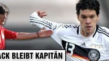 Ballack ramane capitanul Germaniei!