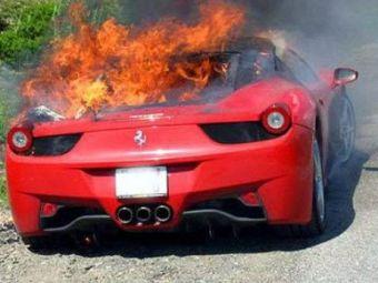 Masina de 250.000 de dolari! 1248 de masini Ferrari 458, in pericol saARDA din senin!