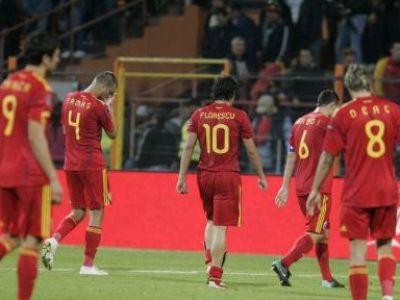 Nationala nu inseamna sprituri si manele? Reactia lui Florescu, cel mai SLAB om de la nationala, la bannerul fanilor!
