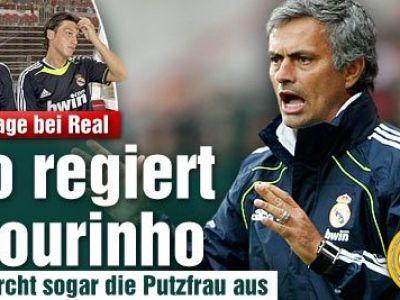 Realul se germanizeaza! Vezi discutia SECRETA dintre Mourinho si Schweinsteiger!