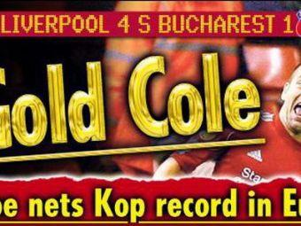 """TheSun: """"Steaua, lovita de FULGERUL Gold Cole!"""" Cum rad englezii de pasa HORROR a lui Abrudan!"""