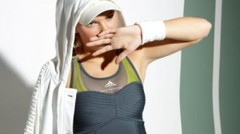 FOTO! Cel mai SEXY meci de tenis! Cu Caroline Wozniacki in ultima sedinta foto!