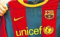 Barcelona si-a prelungit contractul cu.. UNICEF!