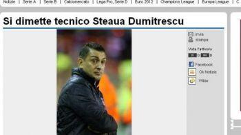 """Napoli se bucura: vrea sa profite de HAOSUL de la Steaua! """"Fanii l-au obligat pe Ilie sa demisioneze!"""""""