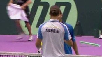 Maradona ii incurajeaza pe Del Potro si Nalbandian! Romania - Argentina, la Cupa Davis!
